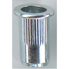 Blindklinkmoer cilinder kop open alu blister M4x11,0 kb 0,5-3,0 ve 50 stks