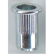 Blindklinkmoer cilinderkop open elvz blister M10x19,0 kb 0,5-3,0 ve 50 stks
