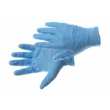 Wegwerp handschoen Nitril SW 41 ongepoederd blauw