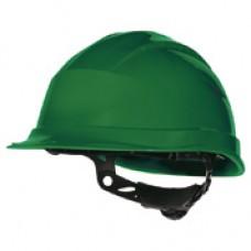 Veiligheidshelm Quartz up III groen ve 1 stks