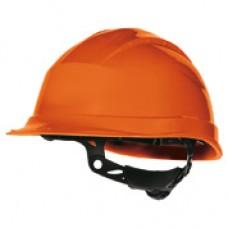 Veiligheidshelm Quartz up III oranje ve 1 stks